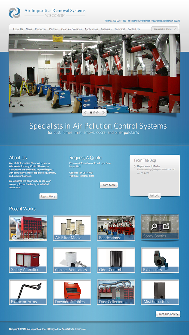 Air Systems Wisconsin Home Page