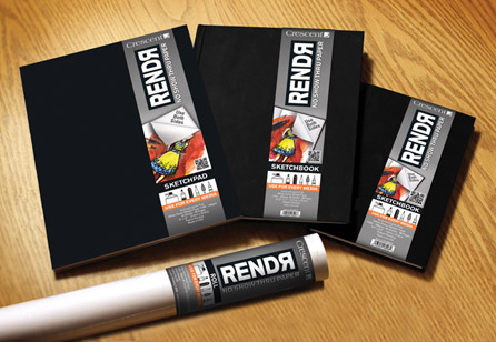 Branding | Crescent RENDR Packaging