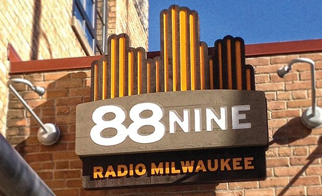 88.9 Radio Milwaukee facility signage