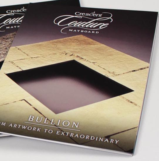 Crescent, Couture Matboard product folders