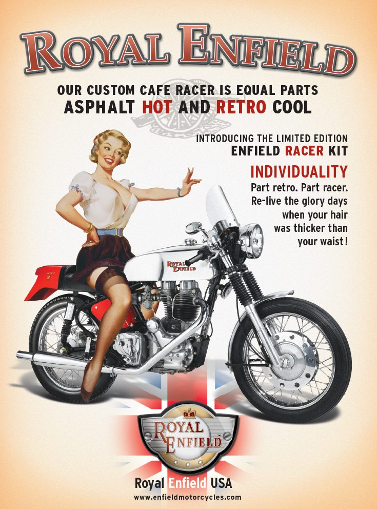 Cafe Racer Pin Up Campaign