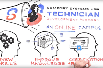 Comfort Systems USA Tech Academy Whiteboard Video