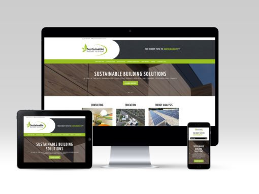 Sustainable Building Solutions Website