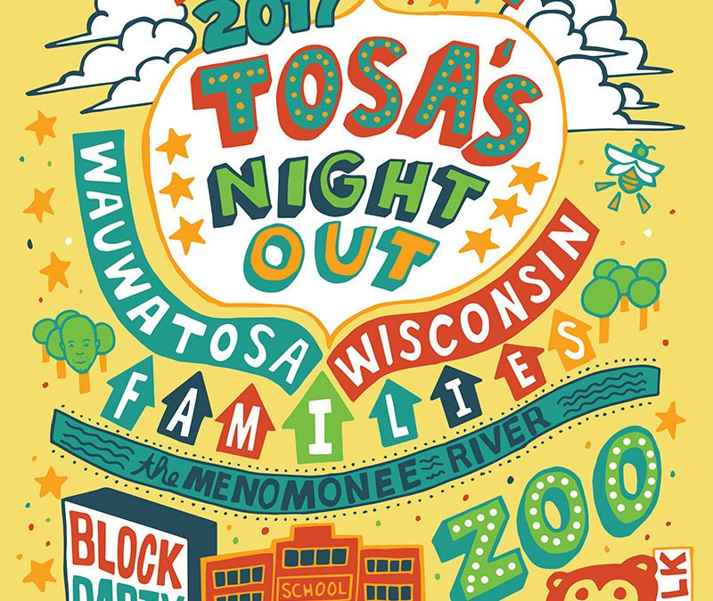 Tosa's Night Out T-shirt for 2017