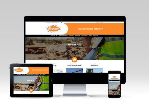 Hunzinger Construction Website